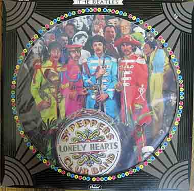 LP, Beatles, Sgt. Pepper's Lonely Hearts Club Band