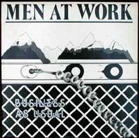 Men at work Business af usual CBS 85423