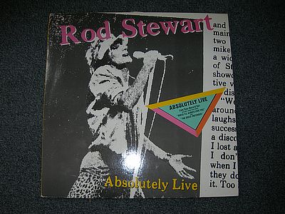 ROD STEWART Absolutely Live Warner 92.3743-1