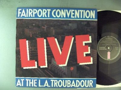 LP, Fairport Convention, LIVE