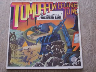 LP, Sensational Alex Harvey band, Tommorow Belongs To Me
