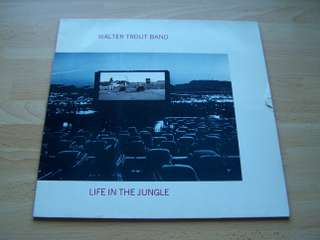 LP, Walter Trout Band, Life in The Jungle
