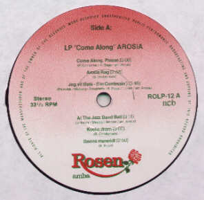 Arosia Come Along Rosen ROLP-12