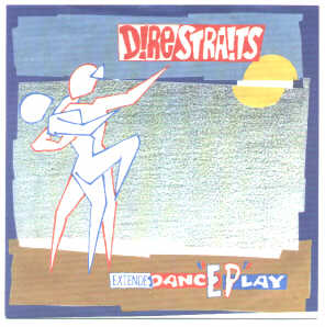 EP, Dire Straits, Twisting By The Pool + 2