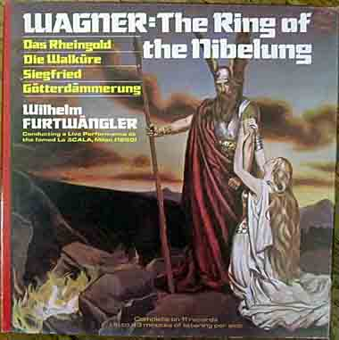 LP, Wagner, Ring of the Nibelung 11 records