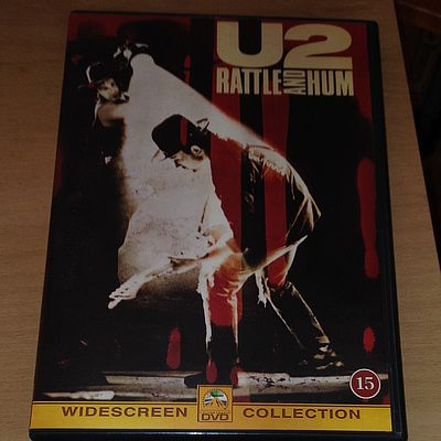 DVD, U2, Rattle and Hum