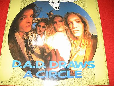 D.A.D. D.A.D. Draws a Circle Mega Records, MRLP 3057