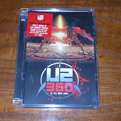 DVD, U2, 360 at the Rose Bowl