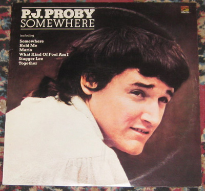 LP, P.J. Proby, Somewhere