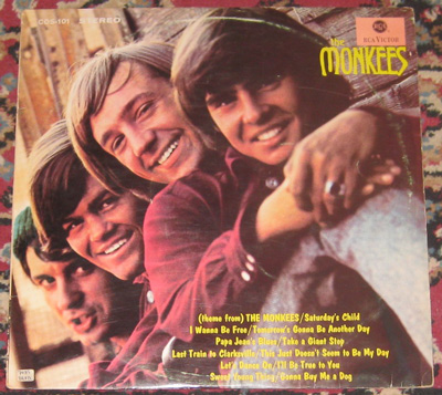 LP, Monkees, The Monkees