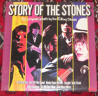 2LP, Rolling Stones, Story Of The Stones