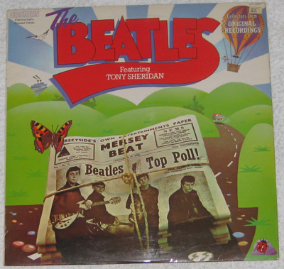LP, Beatles, The Beatles featuring Tony Sheridan
