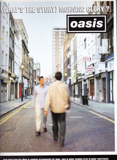 music book, Oasis, (What