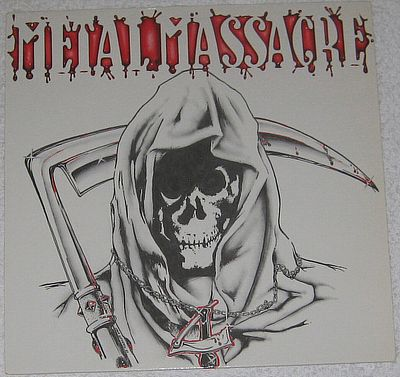 LP, Various, Metal Massacre lV