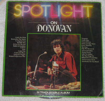 2LP, Donovan, Spotlight On Donovan