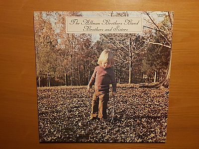 Allman Brothers Band Brothers and Sisters Capricorn K 47507/2409 102