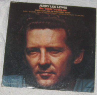 LP, Jerry Lee Lewis, The Killer Rocks On