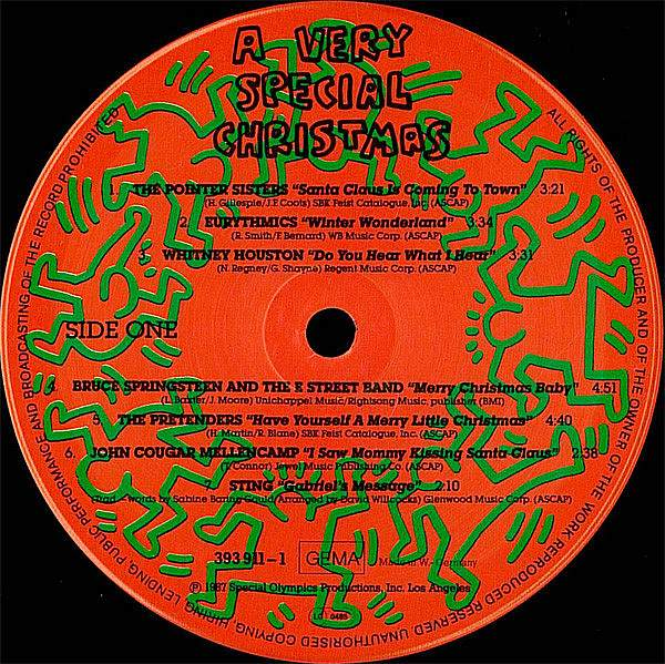 LP, Various, A Very Special Christmas 1987
