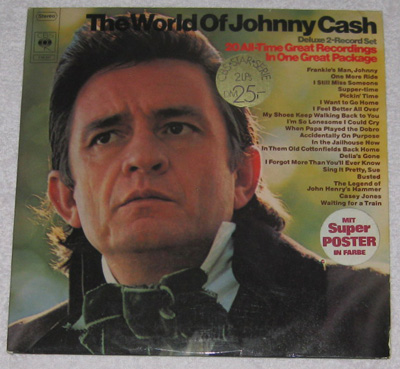 2LP, Johnny Cash, The World Of Johnny Cash