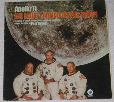 LP, Apollo II, We Have Landed On The Moon