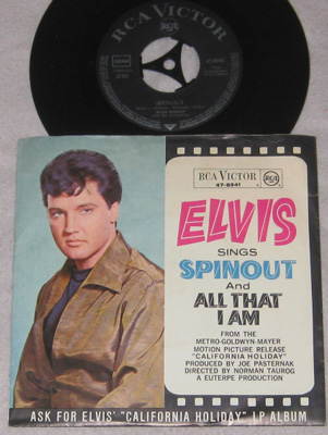 7, Elvis Presley with Jordanaires, Spinout