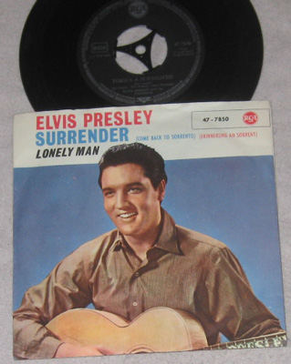 7, Elvis Presley with Jordanaires, Torna A Surriento(Surrender)