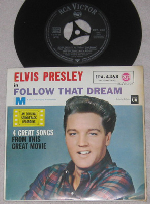 EP, Elvis Presley with Jordanaires, Follow That Dream(1)