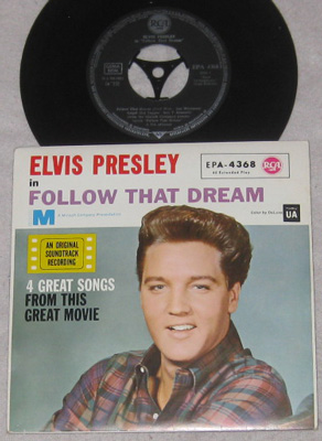 EP, Elvis Presley with Jordanaires, Follow That Dream(2)