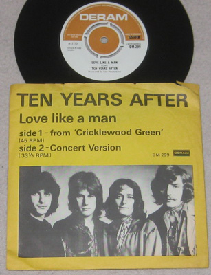 7, Ten Years After, Love Like A Man