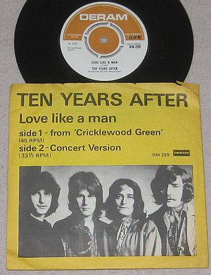 Ten Years After, Love Like A Man Deram DM.299
