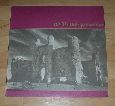 LP, U2, The Unforgettable Fire