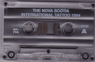 Various artists, The Nova Scotia International Tattoo 1994 Music Manufacturing Services MS-794