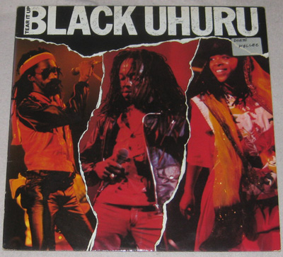 LP, Black Uhuru, Tear it up - live