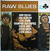 John Mayall, Eric Clapton m.fl Raw Blues Ace Of Clubs - SCL 1220 ( stereo )