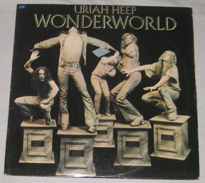 Wonderworld Lp Uriah Heep Wonderworld Bronze Ilps 9280 Music Collector