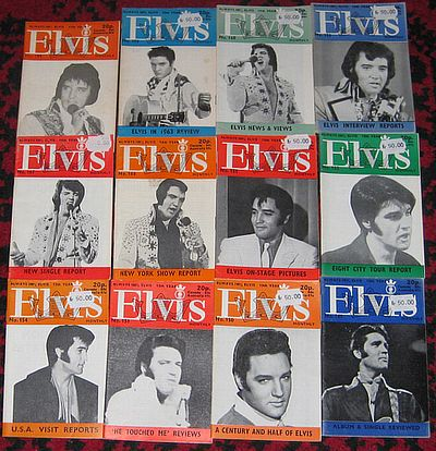 Elvis Presley, 69 STK ELVIS MONTHLY ?