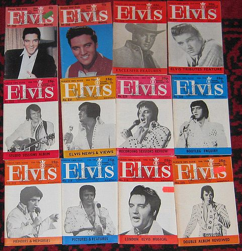 mag, Elvis Presley, 69 STK ELVIS MONTHLY 0