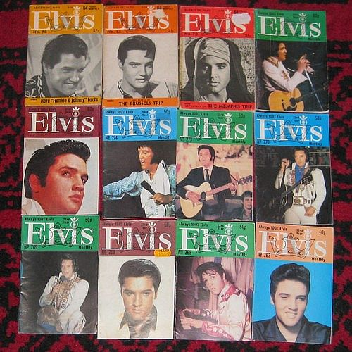 mag, Elvis Presley, 69 STK ELVIS MONTHLY