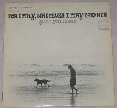 LP, Glenn Yarbrough, For Emily, Whenever I May Find Her.