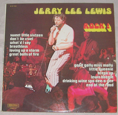 LP, Jerry Lee Lewis, ROCK!