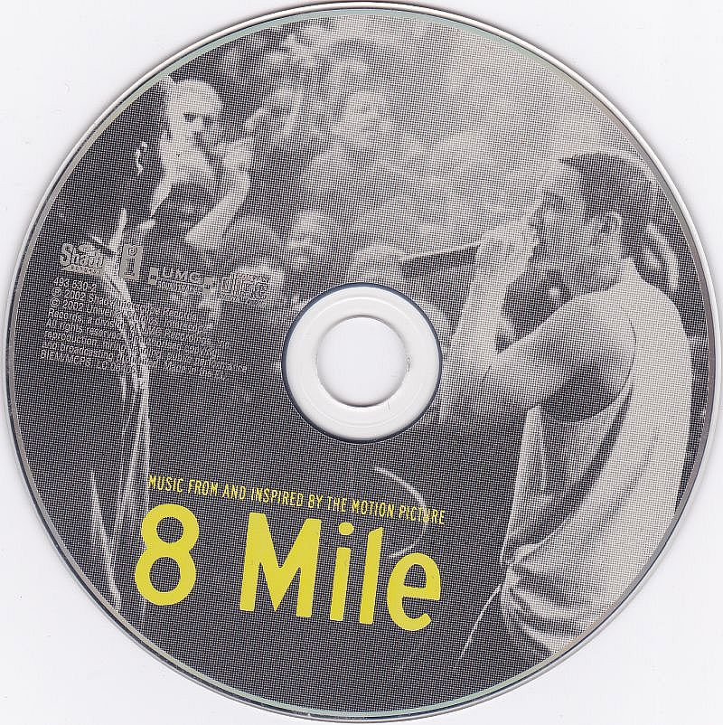 CD, Various, Music from and inspired by the motion picture 8 mile 2002