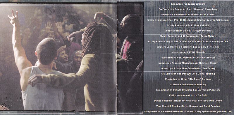 CD, Various, Music from and inspired by the motion picture 8 mile
