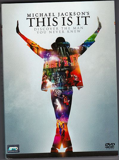 DVD, Michael Jackson, This is it - Discover the man you never knew