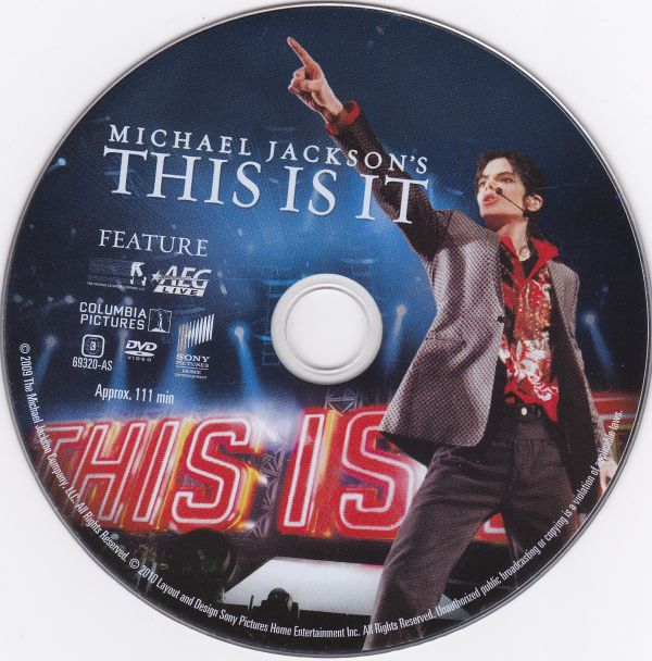 DVD, Michael Jackson, This is it - Discover the man you never knew 2010