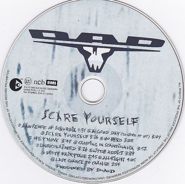 CD, DAD, Scare yourself
