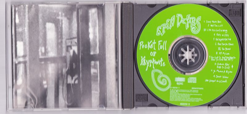 CD, Spin Doctors, Pocket full of kryptonite