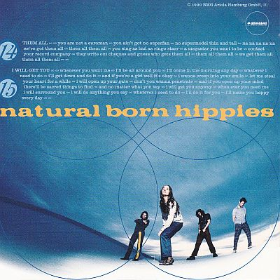 Natural Born Hippies, Popshit Iceberg Records ICE CD 340
