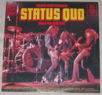 LP, Status Quo, Golden Hour Of Status Quo