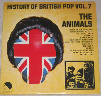 LP, Animals, History Of British Pop VOL. 7.