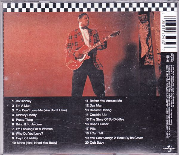 CD, Bo Diddley, Bo Diddley - His best 2001